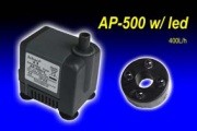 JEBAO AP-500 mini pump w/ led