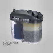 SHIRUBA XB301 External Filter 280l/h