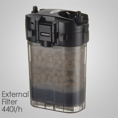 SHIRUBA XB305 external filter 440l/h